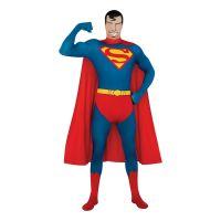 Bild på Second Skin Superman Maskeraddräkt - Medium