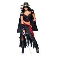 Bild på Sexig lady Zorro maskeraddräkt