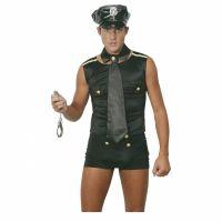 Bild på Sexig Polis Maskeraddräkt (Man)