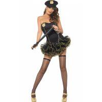 Bild på Sexig-Tyllklänning-Polisuniform
