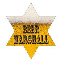 Bild på Sheriffstjärna Beer Marshall