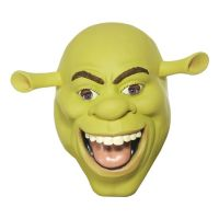 Bild på Shrek Latexmask - One size