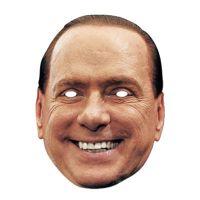 Bild på Silvio Berlusconi Pappmask - One size