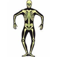 Bild på Självlysande Skelett Maskeraddräkt Large 20129b72f7e6e