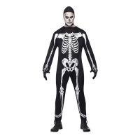Bild på Skelett Jumpsuit Maskeraddräkt - Medium