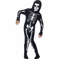 Bild på Skelett Maskeraddräkt Barn Medium