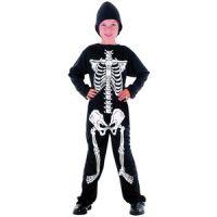 Bild på Skelett - maskeraddräkt barn