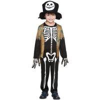 Bild på Skelett maskeraddräkt för barn