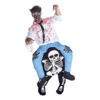 Bild på Skelett Piggyback Maskeraddräkt - One size