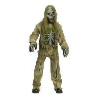 Bild på Skelett Zombie Barn Maskeraddräkt - Medium