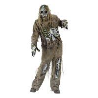 Bild på Skelett Zombie Maskeraddräkt - One size