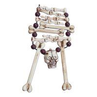 Bild på Skeletthalsband med Dödskalle