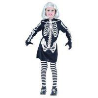Bild på Skelettklänning - maskeraddräkt barn