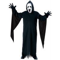 Bild på Skrikande Spöke Barn Maskeraddräkt (Small)