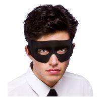 Bild på Skurk/Superhjälte Svart Ögonmask - Svart