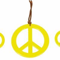Bild på Smyckeset Gul Fredstecken