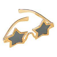 Bild på Solglasögon Stjärna - Guld