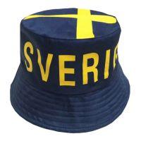 Bild på Solhatt Sverige Blå - One size