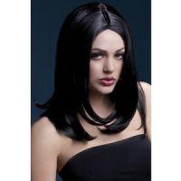Bild på Sophia peruk kort uppklippt - svart