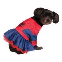 Bild på Spidergirl Hund Maskeraddräkt - X-Small
