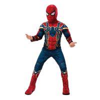 Bild på Spiderman Deluxe Infinity War Barn Maskeraddräkt - Small