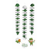 Bild på Spiral Dekoration St Patricks Day 3-pack