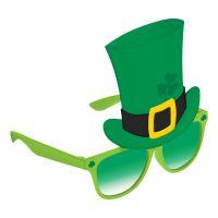 Bild på St. Patrick's Day Glasögon med Hatt