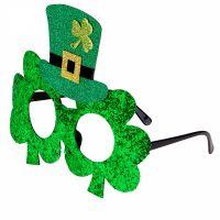 Bild på St Patricks Day Glittriga glasögon