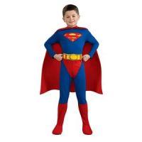 Bild på Stålmannen jumpsuit - maskeraddräkt barn