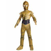 Bild på Star Wars C-3PO Maskeraddräkt Barn (Small (3-4 år))