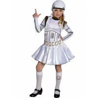 Bild på Star Wars Stormtrooper Barnmaskeraddräkt Flicka