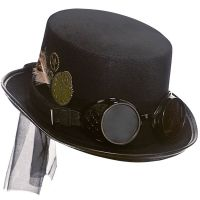 Bild på Steampunk Hatt med Glasögon
