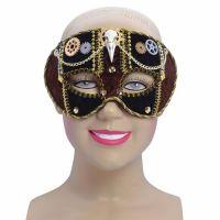 Bild på Steampunk Ögonmask med Dekor