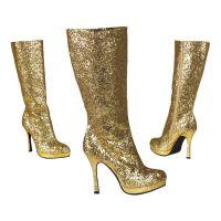 Bild på Stövlar Glitter Guld - 41