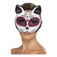 Bild på Sugar Skull Katt Ögonmask - One size