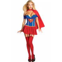 Bild på Supergirl Korsett Maskeraddräkt