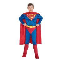 Bild på Superman med Muskler Barn Maskeraddräkt - Small