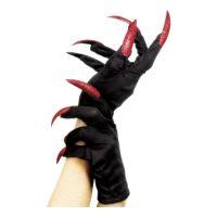 Bild på Svarta Handskar med Naglar - One size