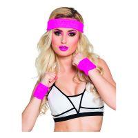 Bild på Svettband Neonrosa Kit - One size
