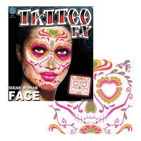 Bild på Tattoo FX Sugar Woman Face