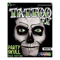 Bild på Tattoo FX White Party Skull