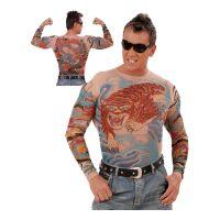 Bild på Tattoo T-shirts - Tiger & Dragon
