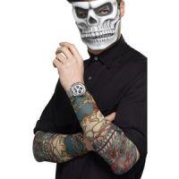 Bild på Tatueringsärm - Day of the Dead