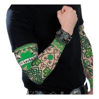 Bild på Tatueringsärm St. Patrick's Day - 2-pack
