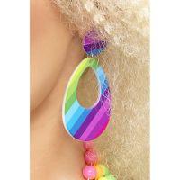 Bild på Teardrop Neon Örhängen