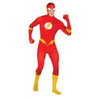 Bild på The Flash Second Skin Maskeraddräkt (Medium)
