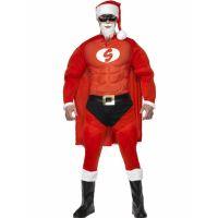 Bild på Tomtedräkt Super Santa (Medium)
