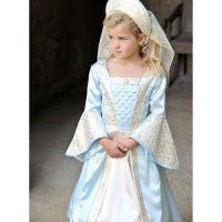 Bild på Tudorflicka barn maskeraddräkt