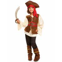 Bild på Tuff Pirat Maskeraddräkt Barn (3-4 år)