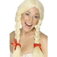 Bild på Tysk skolflicka peruk blond